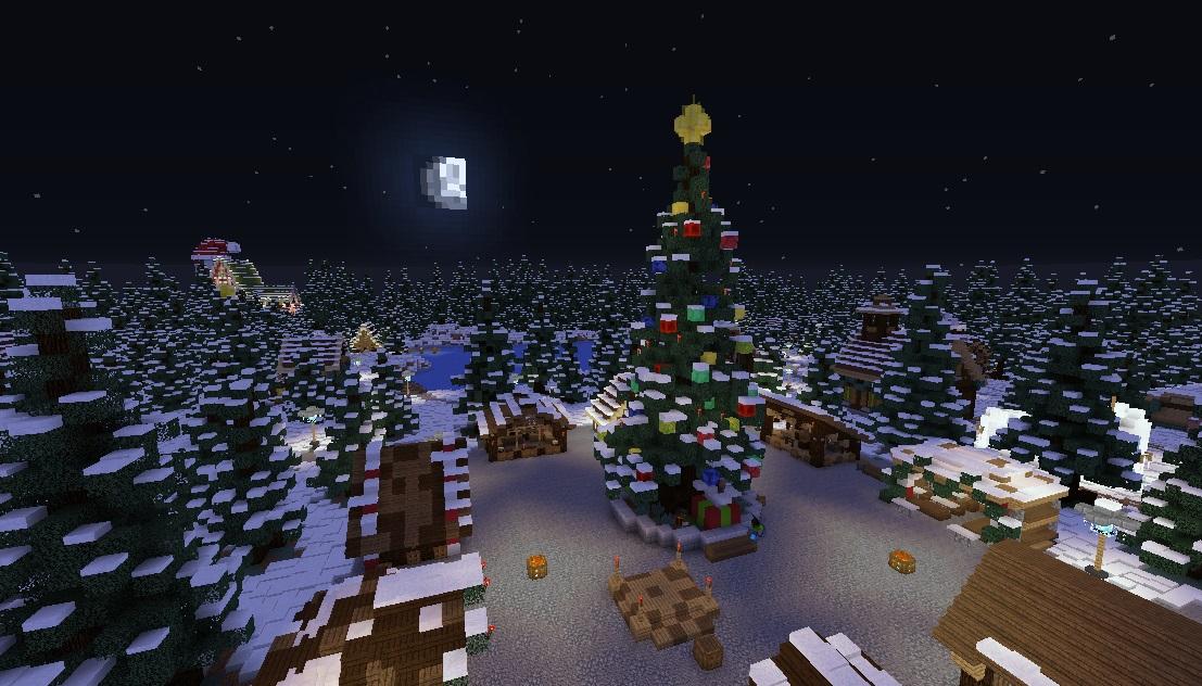 Minecraft Weihnachten